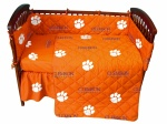 Clemson Tigers Bedding