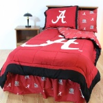 Alabama Crimson Tide Bed-in-a-Bag with Reversible Comforter Full