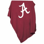 Alabama Crimson Tide Sweatshirt Blanket Throw