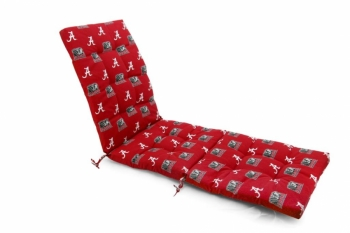 Alabama Crimson Tide Zero Gravity Chair Cushion (20x72x2)
