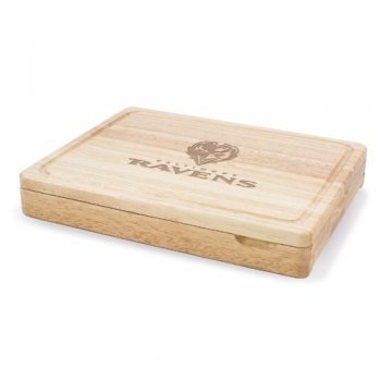 Baltimore Ravens Asiago Cutting Board