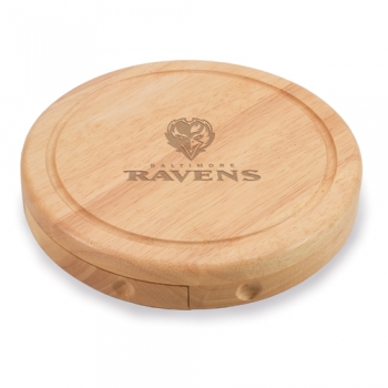 Baltimore Ravens Brie Cheese Board