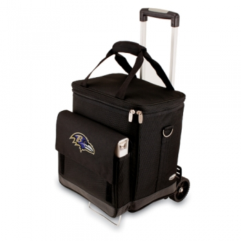 Baltimore Ravens Cellar with Trolley