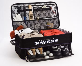Baltimore Ravens NFL Golf Trunk Locker Organizer