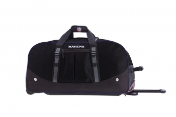 Baltimore Ravens NFL Wheeling Packaged Duffel 24""