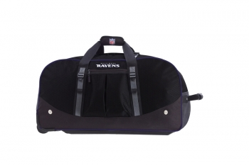 Baltimore Ravens NFL Wheeling Packaged Duffel 35""