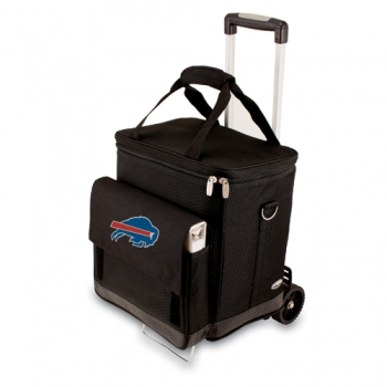 Buffalo Bills Cellar with Trolley