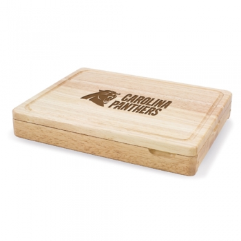 Carolina Panthers Asiago Cutting Board