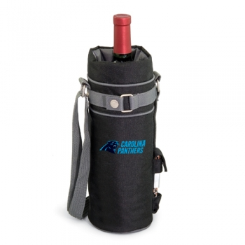 Carolina Panthers Wine Sack Wine Tote