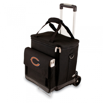 Chicago Bears Cellar with Trolley