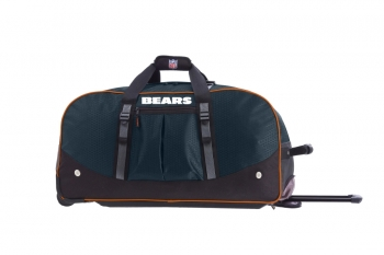Chicago Bears NFL Wheeling Packaged Duffel 24""