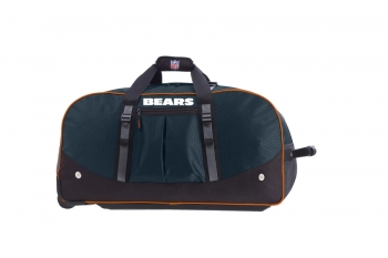 Chicago Bears NFL Wheeling Packaged Duffel 35""