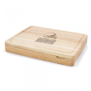 Cleveland Browns Asiago Cutting Board