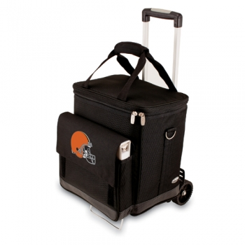 Cleveland Browns Cellar with Trolley