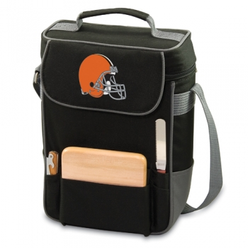 Cleveland Browns Duet Wine Tote