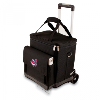 Cleveland Indians Cellar w/ Trolley