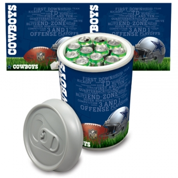 Dallas Cowboys Mega Can Cooler