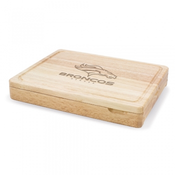 Denver Broncos Asiago Cutting Board