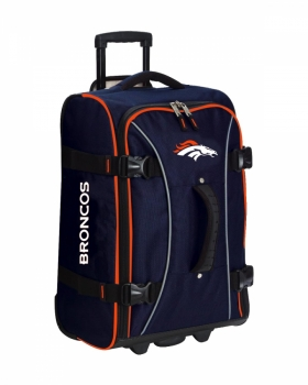 Denver Broncos NFL Wheeling Hybrid Luggage 21""