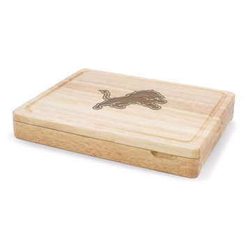 Detroit Lions Asiago Cutting Board
