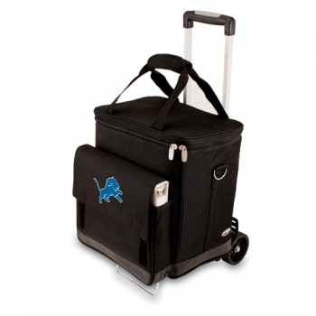 Detroit Lions Cellar with Trolley