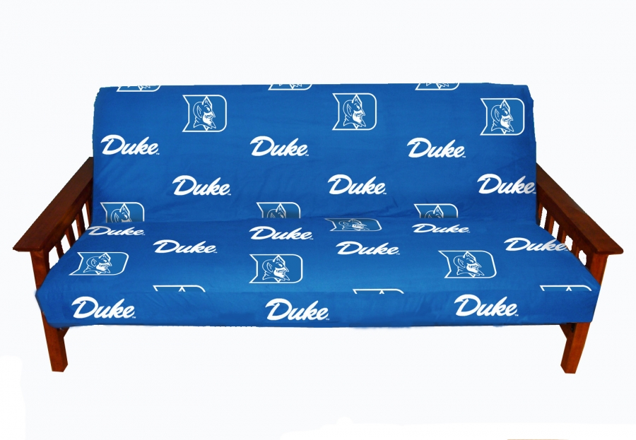 Duke Blue Devils Futon Cover Full Size Fits 8 And 10 Inch Mats
