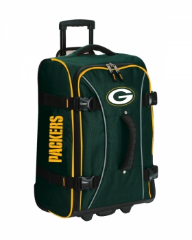 Green Bay Packers NFL Wheeling Hybrid Luggage 21""