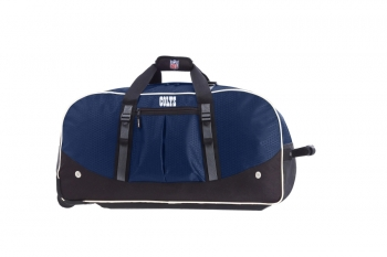 Indianapolis Colts NFL Wheeling Packaged Duffel 35""