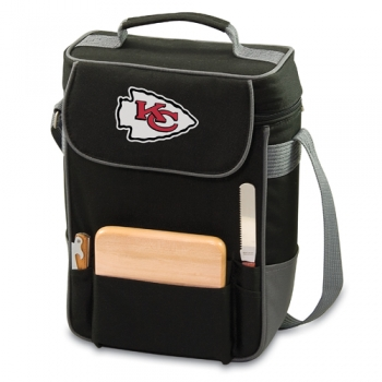 Kansas City Chiefs Duet Wine Tote