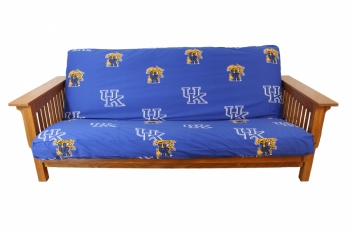 Kentucky Wildcats Futon Cover Full Size fits 8 and 10 inch mats