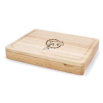 Miami Dolphins Asiago Cutting Board