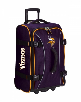 Minnesota Vikings NFL Wheeling Hybrid Luggage 21""