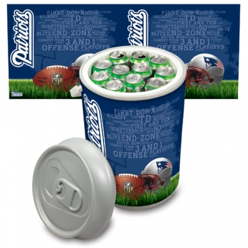 New England Patriots Mega Can Cooler
