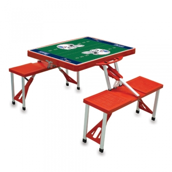 New England Patriots Picnic Table Sport