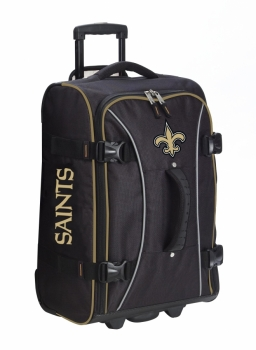 New Orleans Saints NFL Wheeling Hybrid Luggage 21""