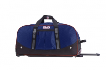 New York Giants NFL Wheeling Packaged Duffel 24""