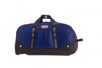 New York Giants NFL Wheeling Packaged Duffel 35""