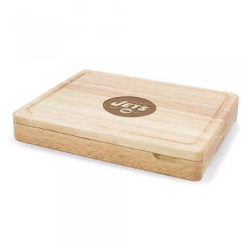 New York Jets Asiago Cutting Board