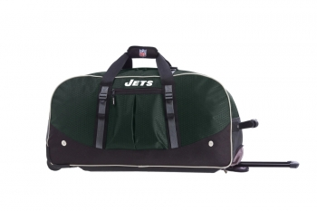 New York Jets NFL Wheeling Packaged Duffel 29""