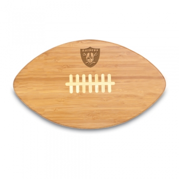 Oakland Raiders Touchdown PRO Cutting Board