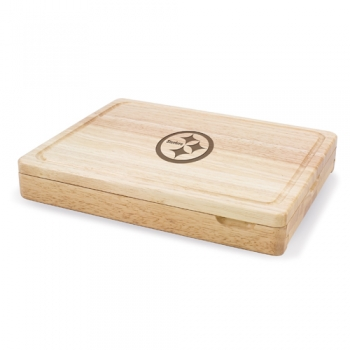 Pittsburgh Steelers Asiago Cutting Board