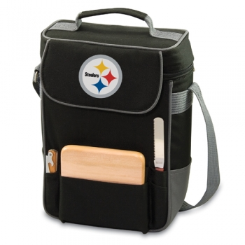 Pittsburgh Steelers Duet Wine Tote