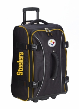 Pittsburgh Steelers NFL Wheeling Hybrid Luggage 21""