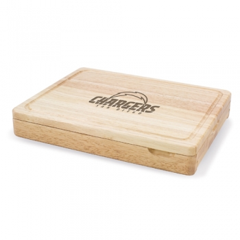 San Diego Chargers Asiago Cutting Board