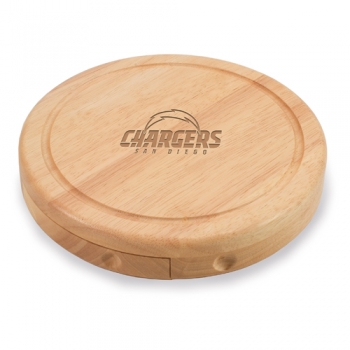 San Diego Chargers Brie Cheese Board
