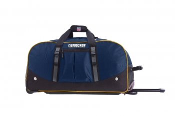 San Diego Chargers NFL Wheeling Packaged Duffel 24""