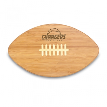 San Diego Chargers Touchdown PRO Cutting Board