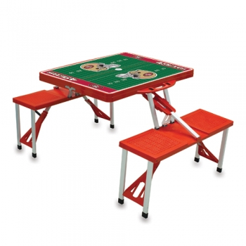 San Francisco 49ers Picnic Table Sport