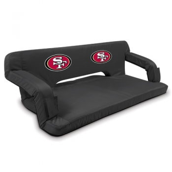 San Francisco 49ers Reflex Travel Couch