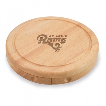 St. Louis Rams Brie Cheese Board